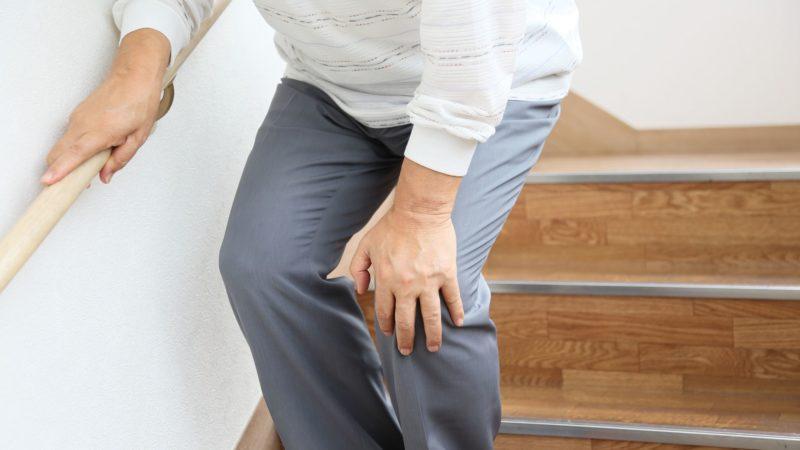 股関節、膝関節が原因の場合