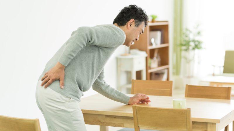 腰が原因の場合